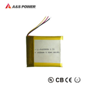 Rechargeable 535058 Lithium Polymer Battery 3.7V 1600mAh pictures & photos
