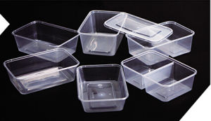 Microwavable Plastic Food Container, PP Take Away Food Container pictures & photos