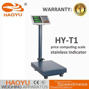 T1 Stainless Steel Price Indicator Carbon Steel Frame Platform Scale pictures & photos