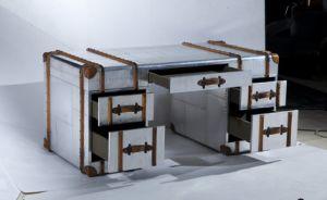 Richard Trunk Aviator Aluminum Desk, Classic Office Desk Rtk-63 pictures & photos