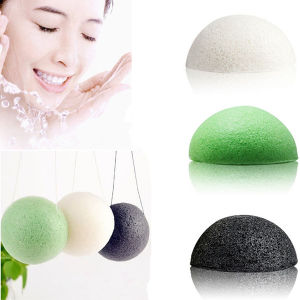 Semisphere Konjac Cleaning Puff Sponge pictures & photos
