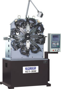 Kcmco-Kct-35W 1.2-4.0mm Versatile CNC Spring Rotating Forming Machine& Compression/ Extension/ Torsion Spring Machine pictures & photos