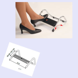 Automatic Ergonomic Height Adjustabel Office Footrest Exported to Worldwide pictures & photos
