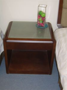 End Table Corner Table Black Wood Furniture Nightstand pictures & photos