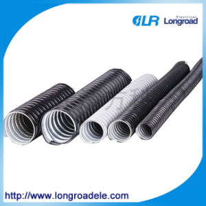 PVC Coated Flexible Metal Conduit, Electrical Conduit Pipe pictures & photos