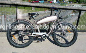 Old School Style 250/500W Vintage Cruiser Bikes/Classic Cruiser Electric Bicycles/Traditional Electric Fat Bike/Nostalgia Fat Pedelec/Retro Pedelec 26X4 Tire Ce pictures & photos