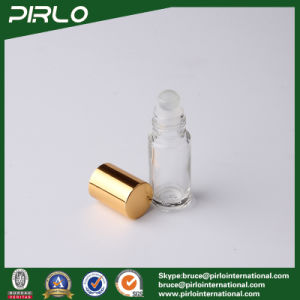 3ml Clear Luxury Glass Perfume Deodorant Bottle with Aluminum Lid Small Portable pictures & photos