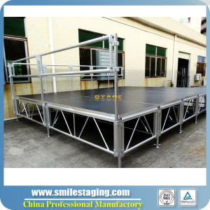 Used Aluminum Mobile Stage Small Stage for Sale Portable Stage pictures & photos