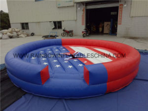 Dia 5m Flag Inflatabel Bull Mattress pictures & photos