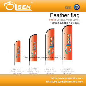 Promotional Feather Flag Pole for Event Advertising pictures & photos