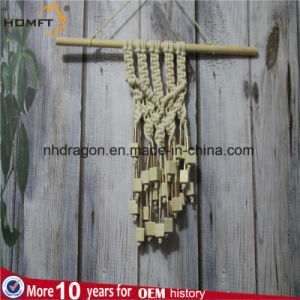 Wood Bead Macrame Wall Hanger pictures & photos
