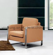 Modern Style Waiting Room PU Leather Office Sofa (SF-6028) pictures & photos