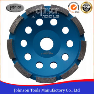 125mm Single Row Cup Wheel for Stone pictures & photos