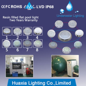 IP68 LED Surface Mounted Underwater Light for Swimming Pool pictures & photos
