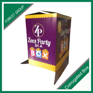 White Corrugated Carton Bins with Custom Logo pictures & photos