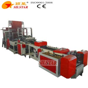 Overlap S-Type Plastic Bag Making Machine pictures & photos