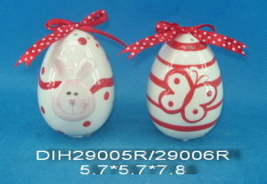 Hand-Painted Ceramic Egg Salt&Pepper Shakers pictures & photos