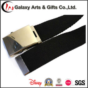 Metal Buckle New Design Custom Man Canvas Polyester Cotton Belt pictures & photos