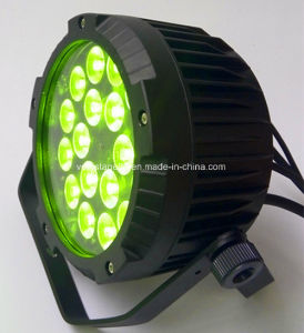 Outdoor IP65 18*18W RGBWA UV 6in1 LED PAR pictures & photos