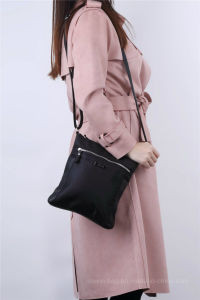 Fashion Polyester Nylon with PU Crossbody Bag pictures & photos