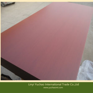 Red Cherry Melamine Paper Faced MDF pictures & photos