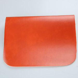 Professional Oily and Waxy Synthetic PU Leather for Furniture pictures & photos