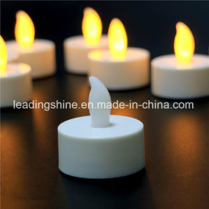 Wedding Decoration Dating Warm White Yellow Colorful Flameless Tea Candle Light pictures & photos