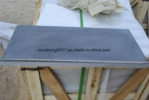 Honed Blue Limestone Blue Stone/Covering/Flooring/Paving/Tiles/Slabs/Limestone/Bluestone pictures & photos