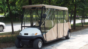 6 Seater Electric Sightseeing Cart for Sale pictures & photos