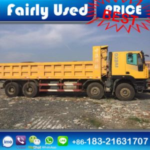 Used 8X4 Iveco Kingkan Hongyan Dump Tipper Truck for Sale pictures & photos