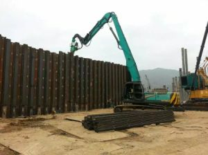 Excavator Pipe Hammer for 6-15m Steel Sheet Pile pictures & photos