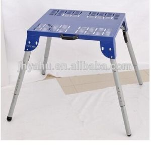 Height Adjustable Miter Saw Stand with Quick Folding Leg (YH-MS046F) pictures & photos