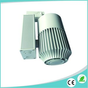 30W White/Black/Silver Housing CREE COB LED Track Lighting pictures & photos