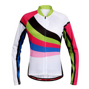 Fashion Women Cycling Jersey Cycling Pant with Silicon Anti-Slip Stripe pictures & photos