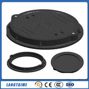 Bitumen Coating D-400 Ductile Iron BMC Manhole Cover pictures & photos