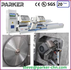 Parker Aluminium Double Head Cutting Machine pictures & photos