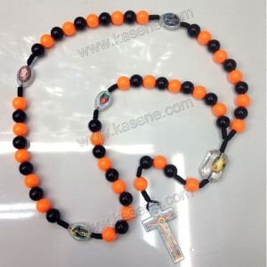 Cord Bead Catholic Religious Rosary with Different Designs and Colors pictures & photos