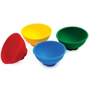 Multi-Colored Silicone Pinch Bowls pictures & photos