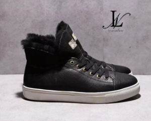 High Top Winter Leather Sneaker (CAS-051)