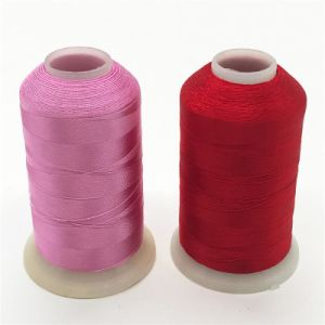 40W 100% Viscose Rayon Embroidery Thread pictures & photos