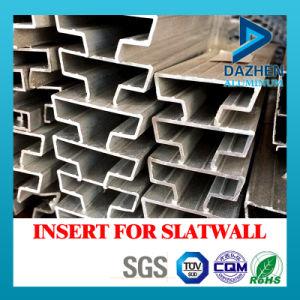 Best Quality Good Price Aluminium Aluminum Extrusion Profile for Insert Slatwall MDF pictures & photos