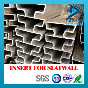 Best Quality Good Price Aluminium Aluminum Profile for Insert Slatwall MDF pictures & photos