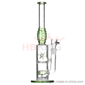 Hbking New Designs Grenade Shape Smoking Water Pipe Windmill Percolator Glass Water Pipes pictures & photos