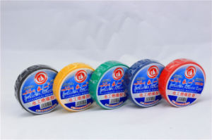 PVC Flame Retardant Isulation Adhesive Tape pictures & photos