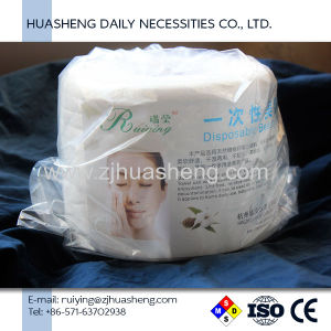 Hand Towel 100% Cotton Roll Disposable Paper Towel pictures & photos