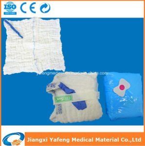 Hot Sale Lap Sponge with X-ray Detectable for Hospital Use pictures & photos