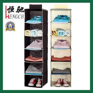 Non Woven Closet Hanging Shoes Apparel Storage Bag Organizer pictures & photos