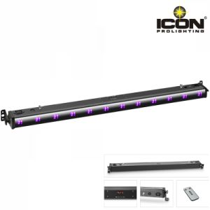 Indoor 12X3w UV Remote LED Wash Bar Light pictures & photos
