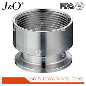 Sanitary Stainless Steel NPT Tube Pipe Fittings pictures & photos