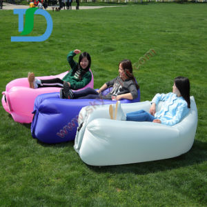 Outdoor Fast Filling Waterproof Inflatable Folding Lazy Bag Sofa pictures & photos